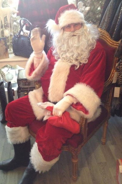 Santa visits and Parties
