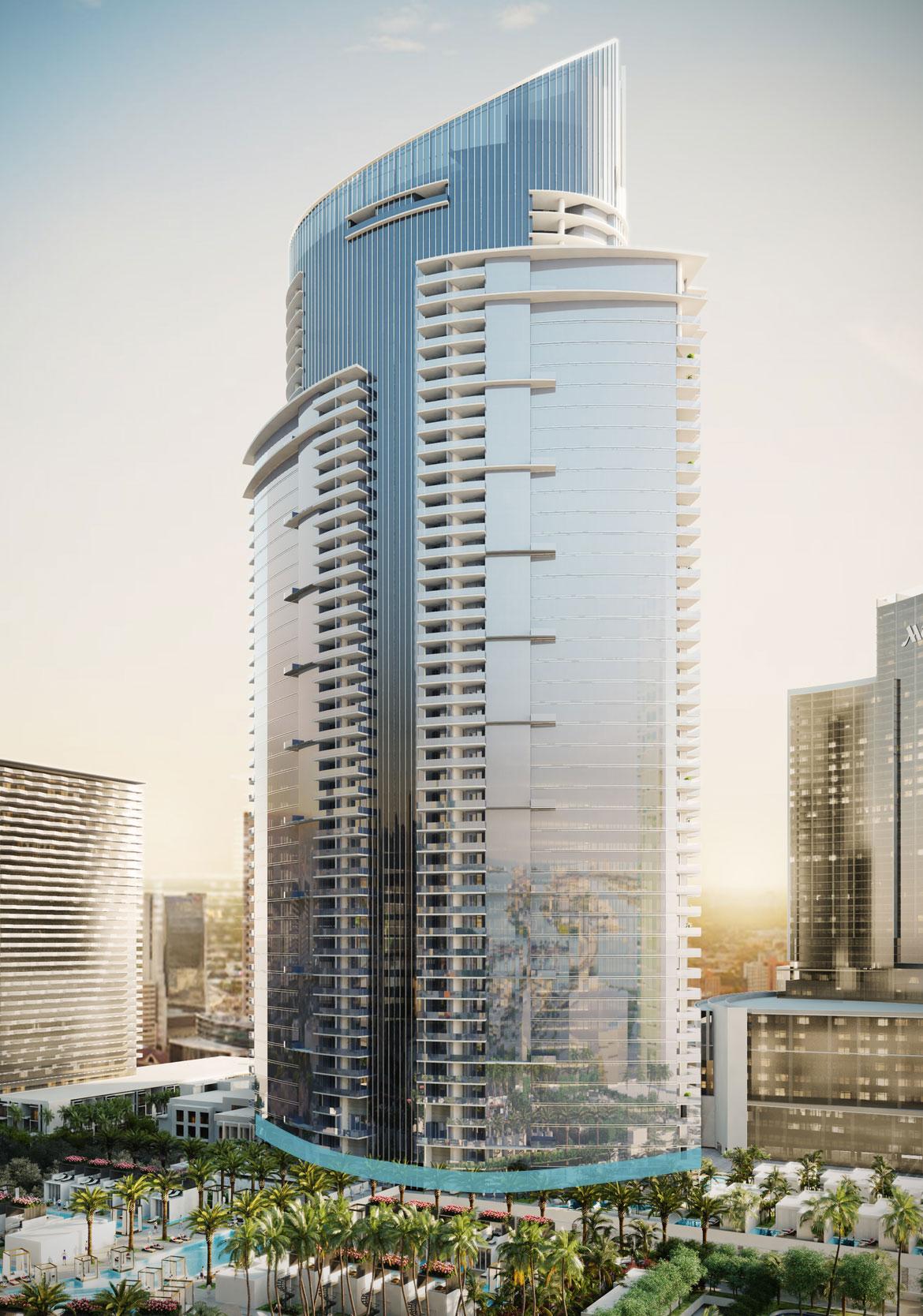 skyview image of Miami World Center