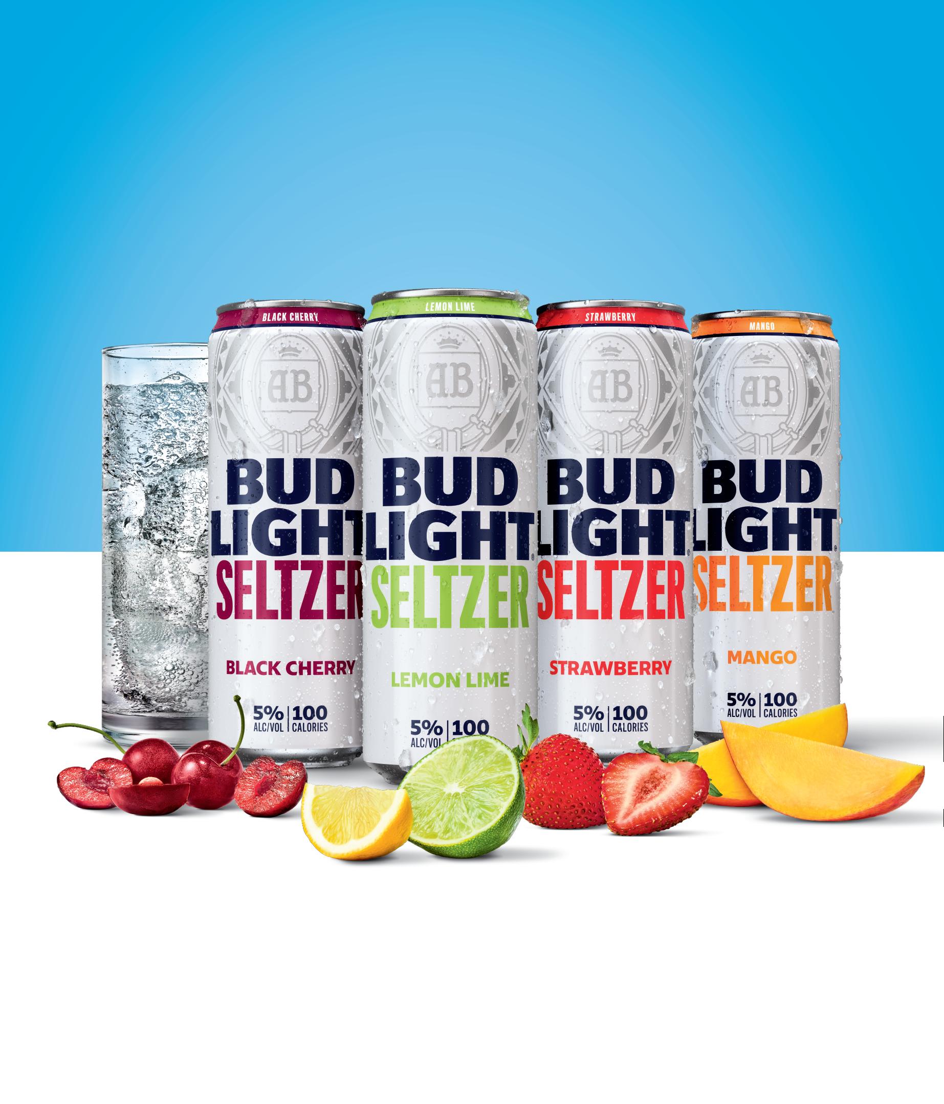 Bud Light Makes $100 Million Bet On Hard Seltzer