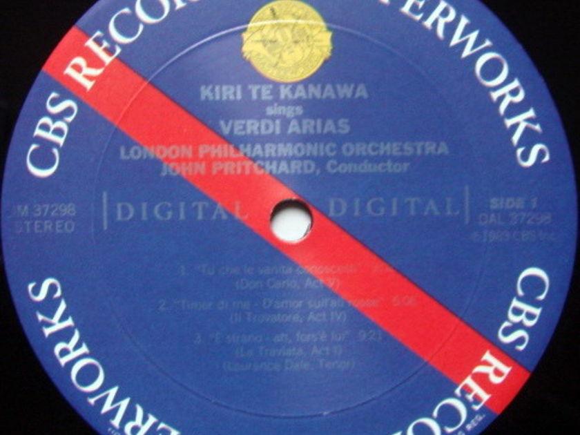 CBS Digital / TE KANAWA, - Verdi & Puccini Arias, MINT!
