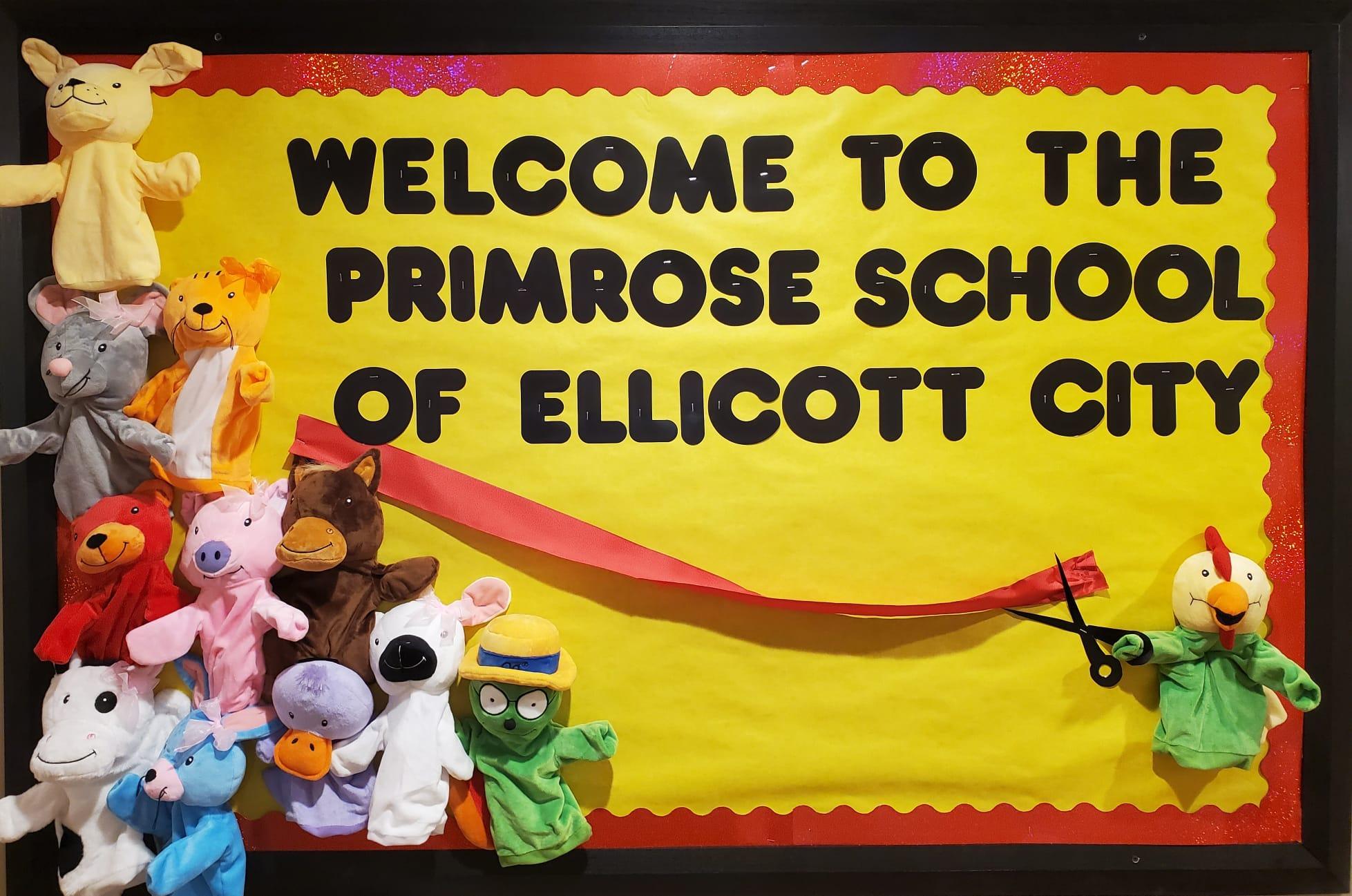 Primrose School of Ellicott City is open now !!