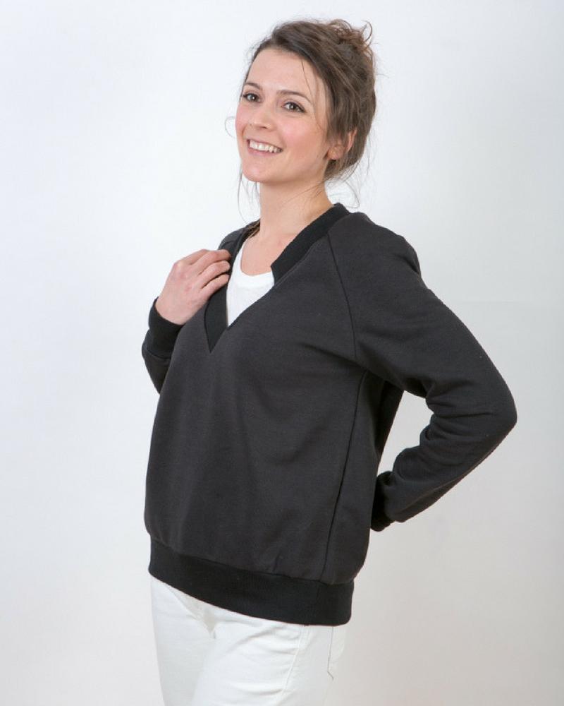 Zachte en elegante luxe sweater GLDN