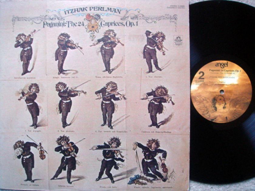 EMI Angel / PERLMAN, - Paganini 24 Caprices, MINT!