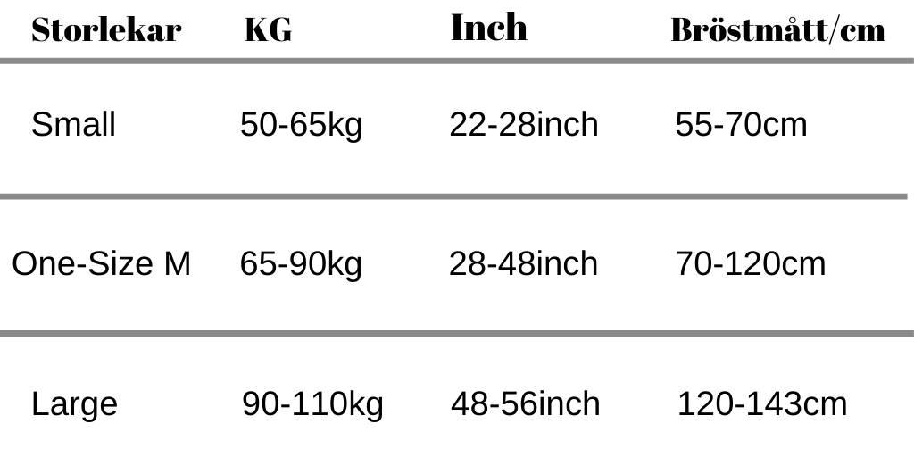 Storlek för posture corrector stabil posture