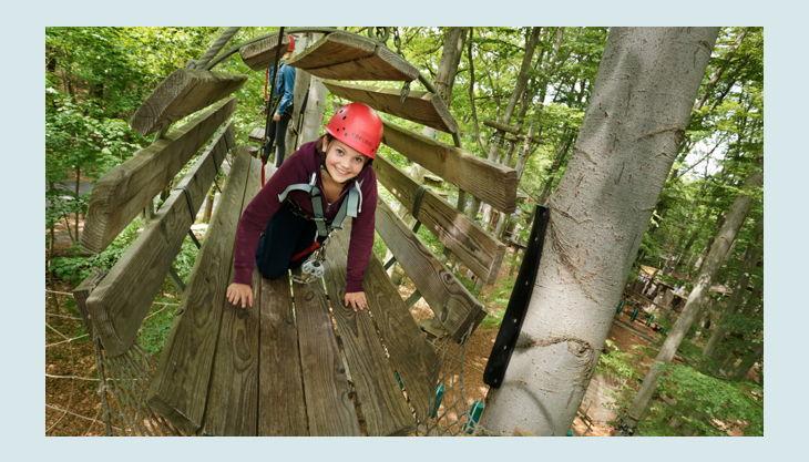 abenteuerpark potsdam kletterwald parcours
