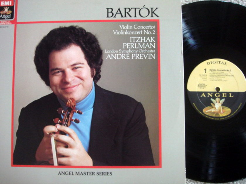 EMI Angel Digital / PERLMAN, - Bartok Violin Conerto No.2,  MINT!