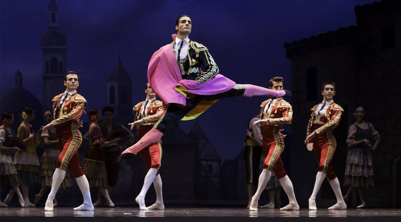 moises martin, principal dancer with atlanta ballet