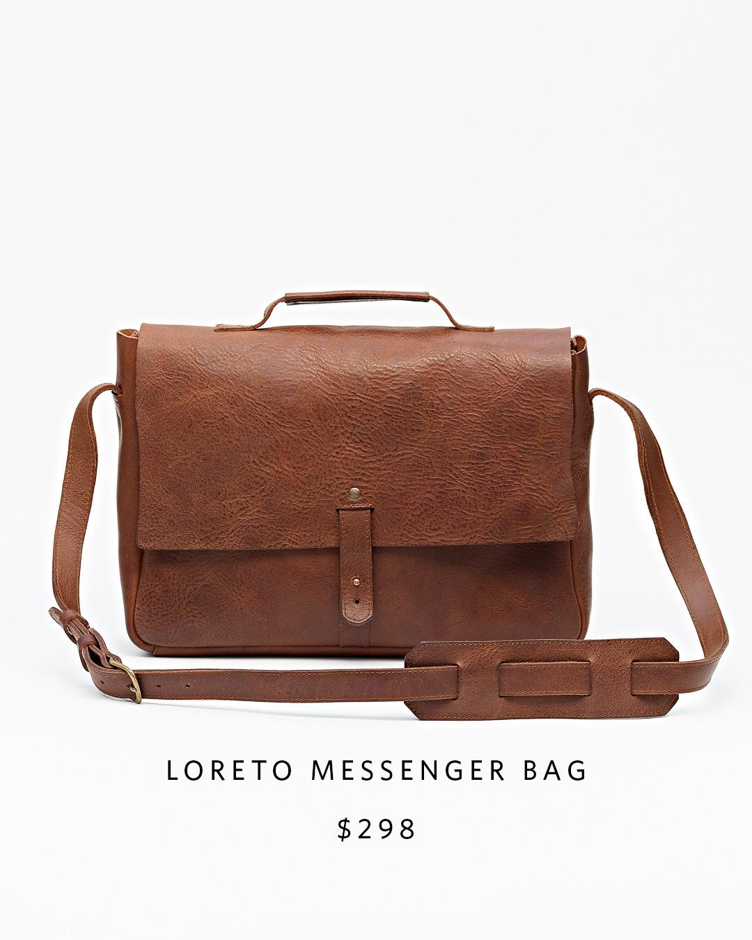 Loreto Messenger Bag | Nisolo