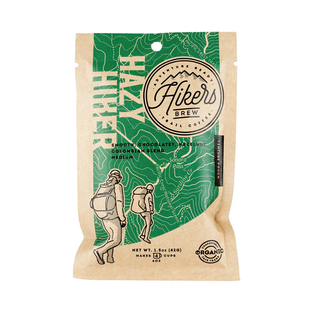 Hazy Hiker - Hazelnut Flavored Coffee - 1.5 oz