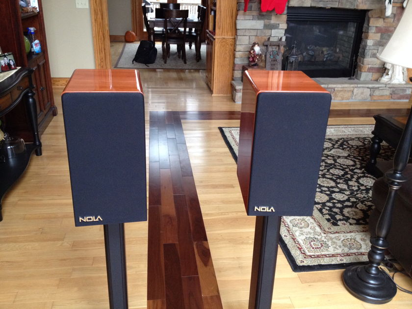 Nola Boxer Bookshelf Speakers