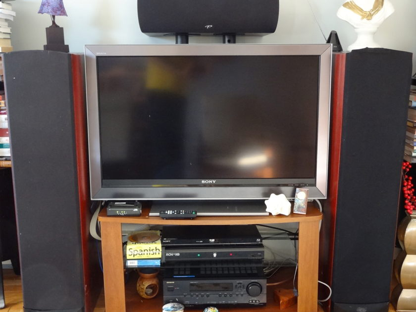 Paradigm CC-470 center speaker in rosenut