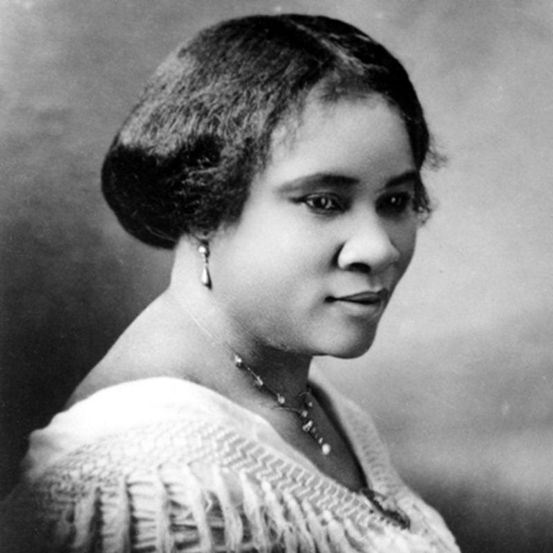 madam c j walker black woman founder
