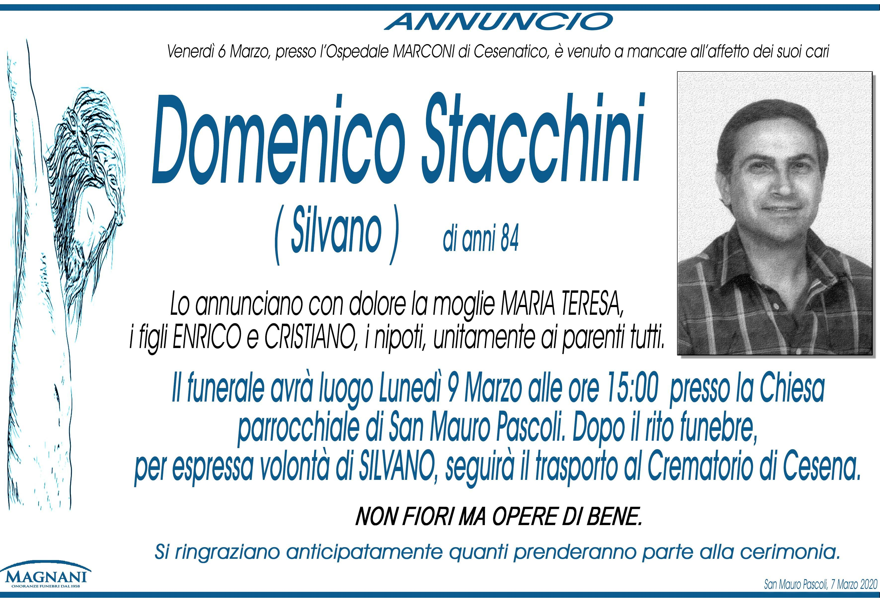 Domenico Stacchini