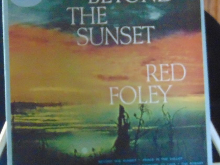 Red Foley -  Beyond The Sunset Near Mint