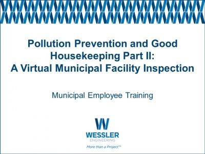 Pollution Prevention & Good Housekeeping Part II
