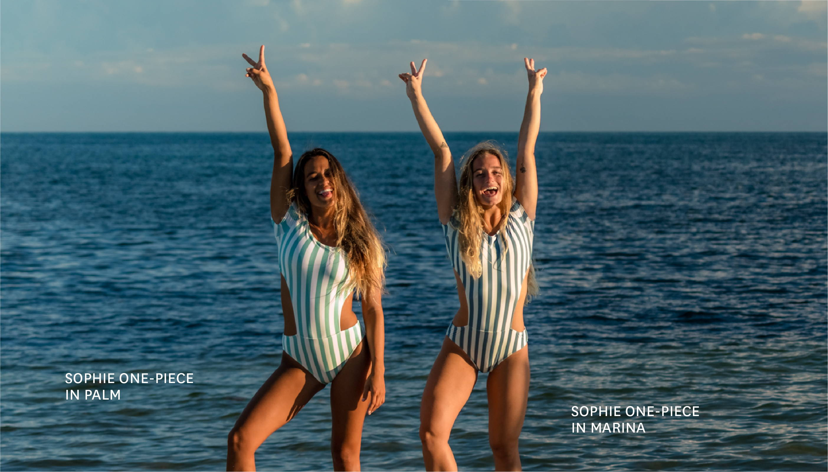 Get the SOPHIE ONE-PIECE in AIRLIE (PALM)!