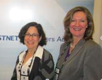 Marion Asnes of Envestnet with Marie Swift of Impact Communications