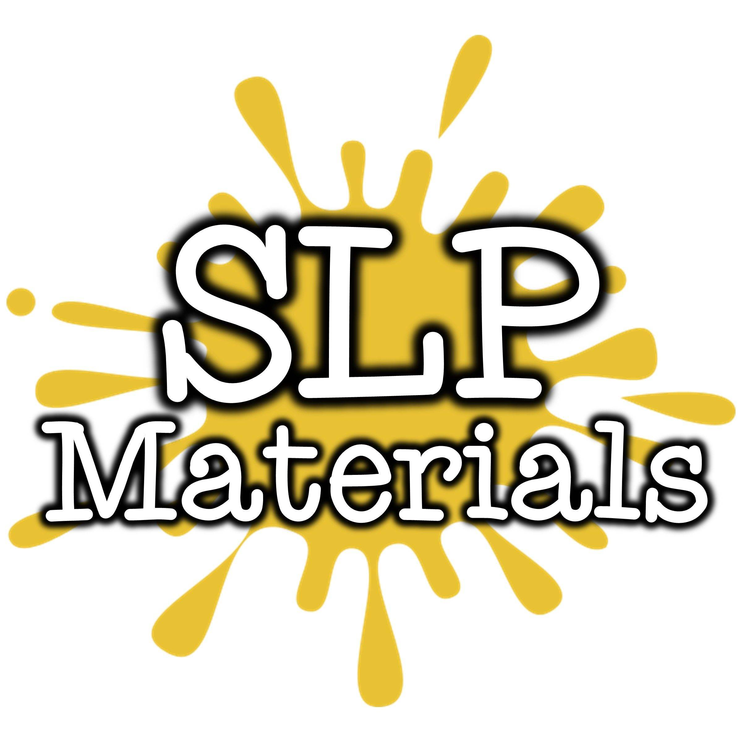 Buy Speech Therapy Materials created for elementary Speech Language Pathologists