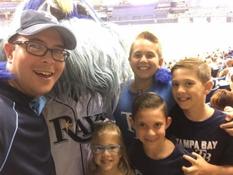 All about that BASE - Rays Game with Father Felipe