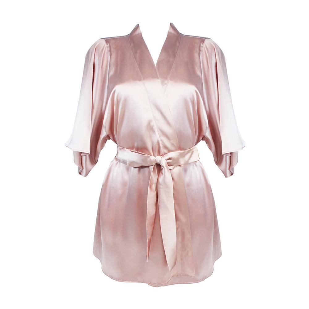 fleur of england affection silk robe