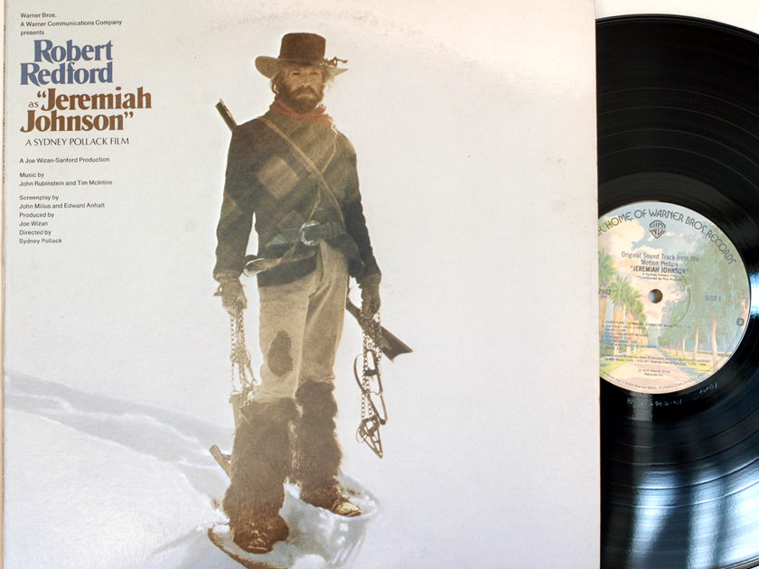 Jeremiah Johnson Robert Redford - Original Movie soundtrack Audiophile Warner Bros BS 2902