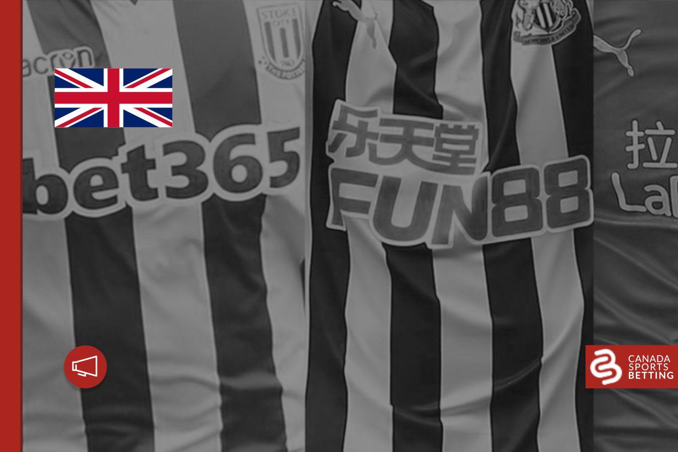 The UK to ban gambling sponsorship on soccer tops