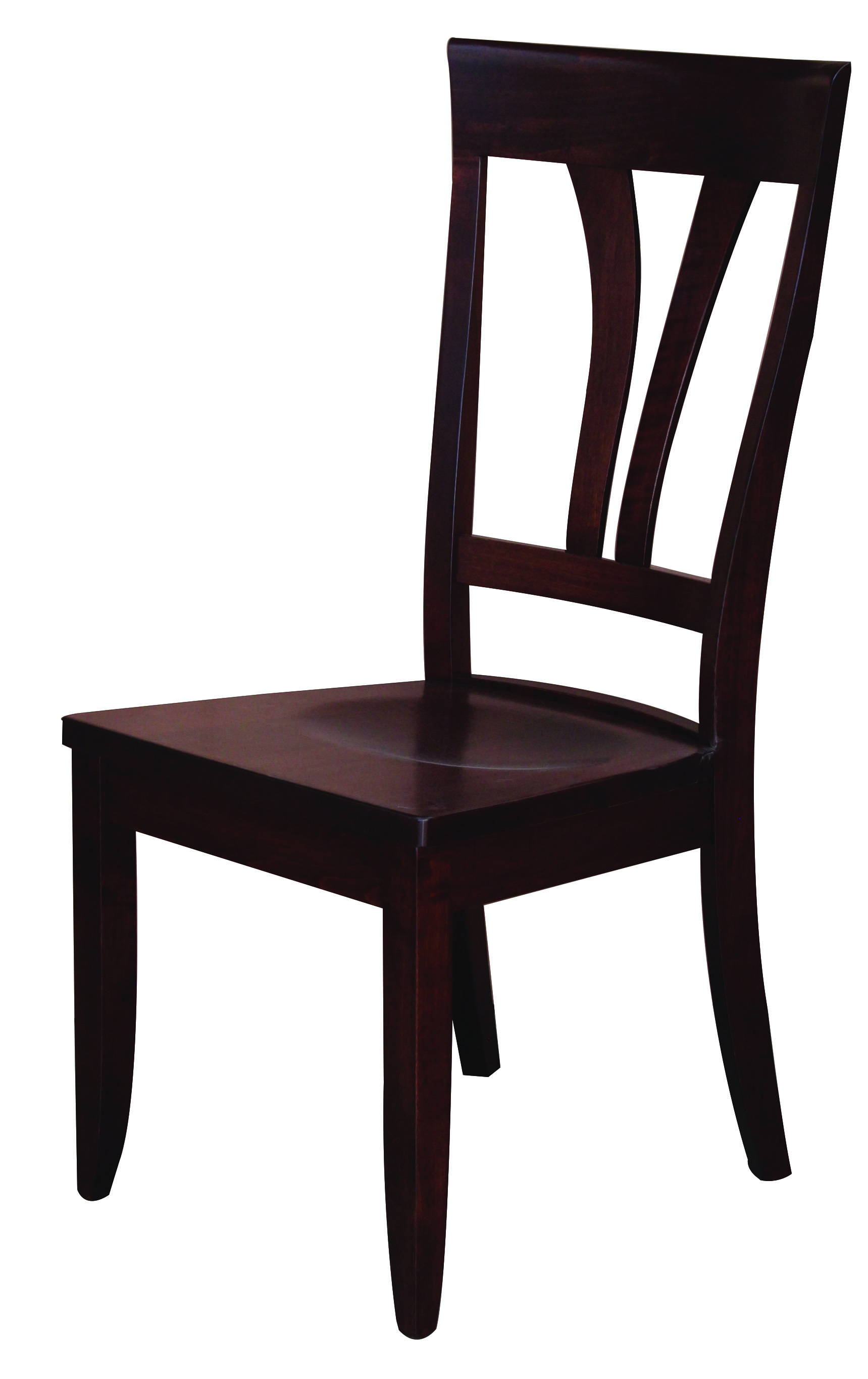 Glenwood Solid Wood, Handcrafted Kitchen Chair or DIning Chair from Harvest Home Interiors Amish Furniture