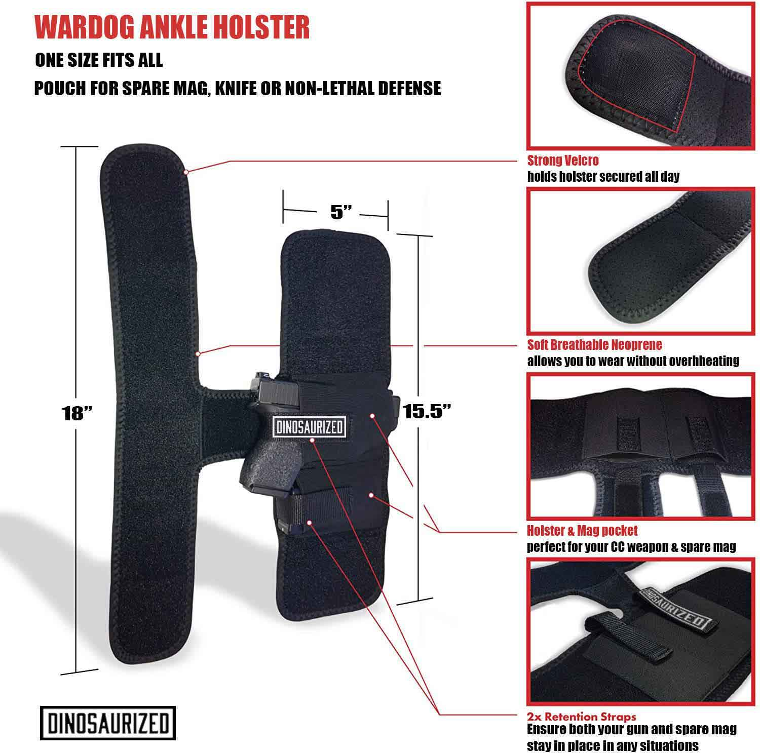 conceal ankle holsters