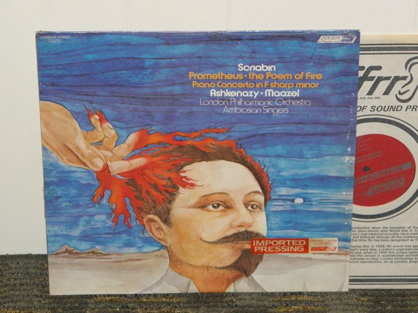 "Ashenazy+Maazel/London Symphony Orch - Scriabin ""Prometheus+more London CS6732 Still in Shrink"