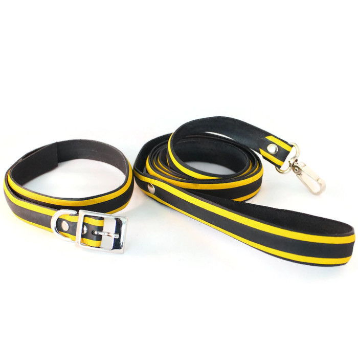 Vegan cruelty-free dog accessories lead collar
