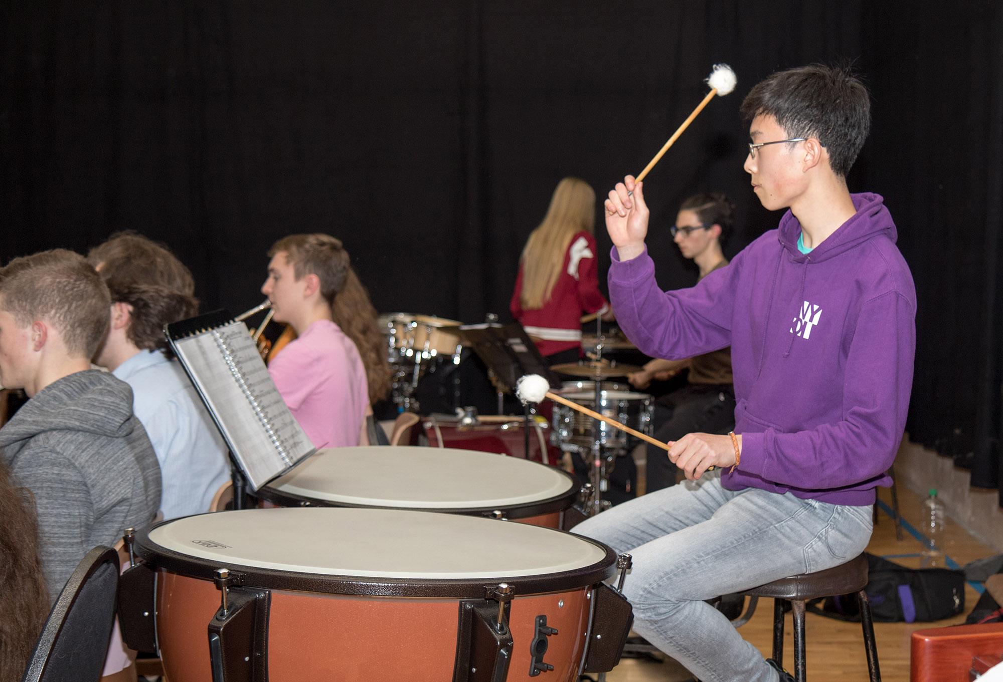 Symphonic Waves Drums - Clonbur Rehearsal