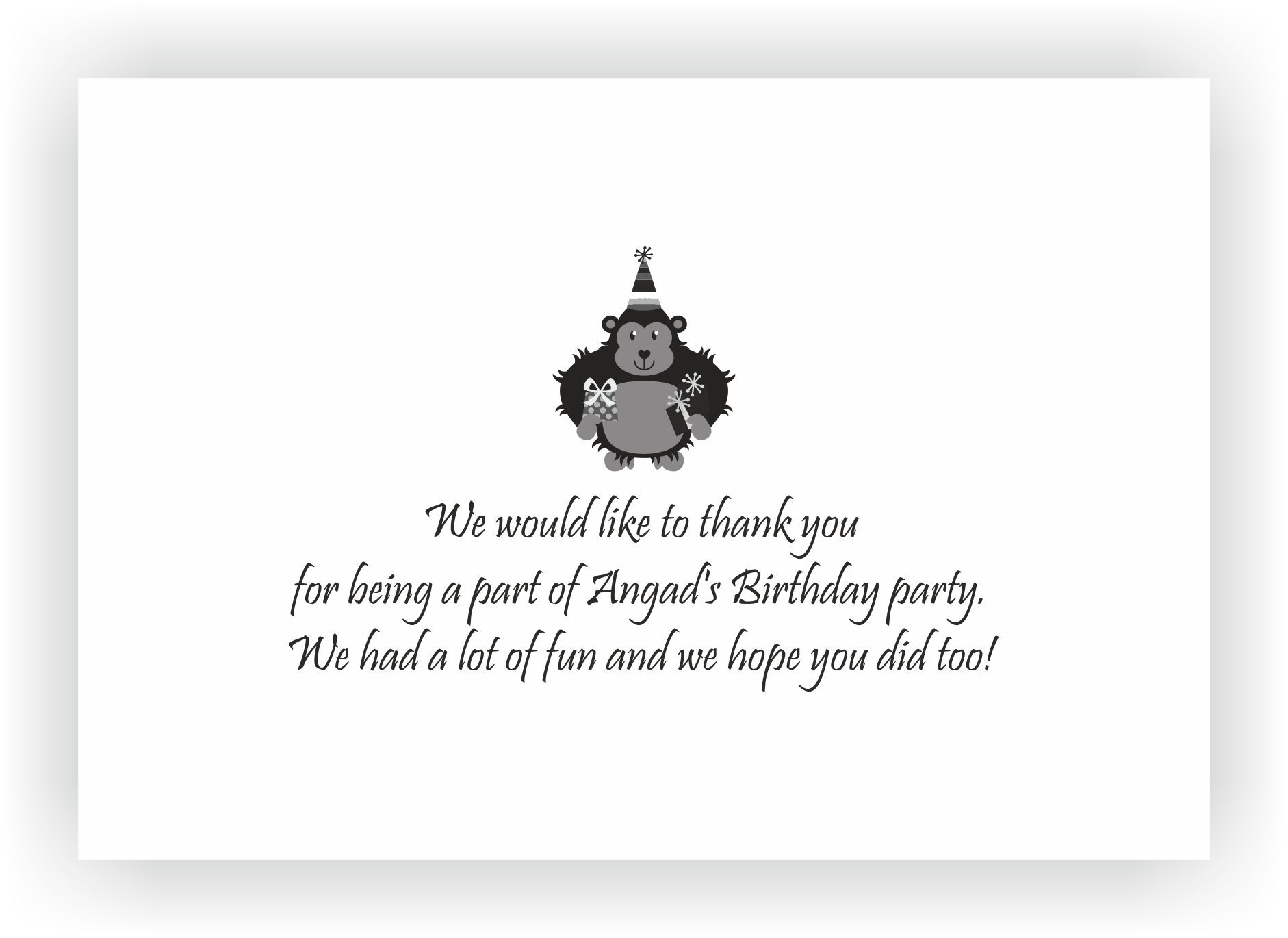 Theme Birthday Party Return Gifts Chococraft