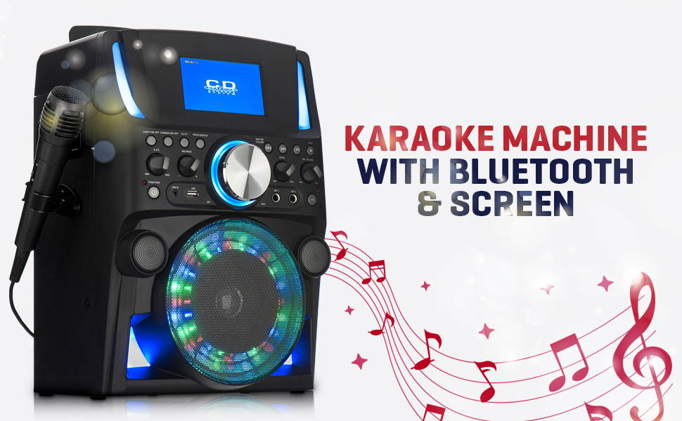 Karaoke Machine With Bluetooth