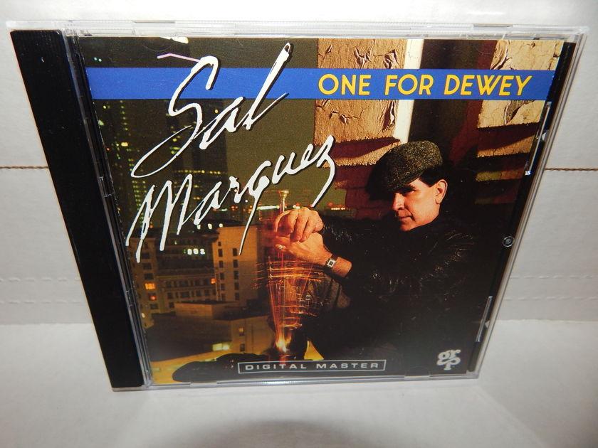 SAL MARQUEZ One For Dewey  - GRP Digital Master Promo Hard Bop Jazz NM CD