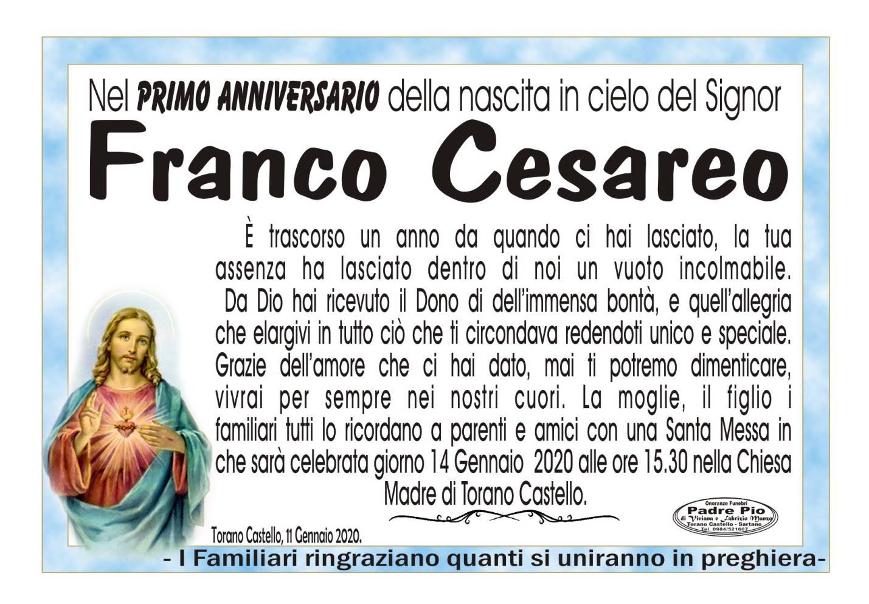 Franco Cesareo
