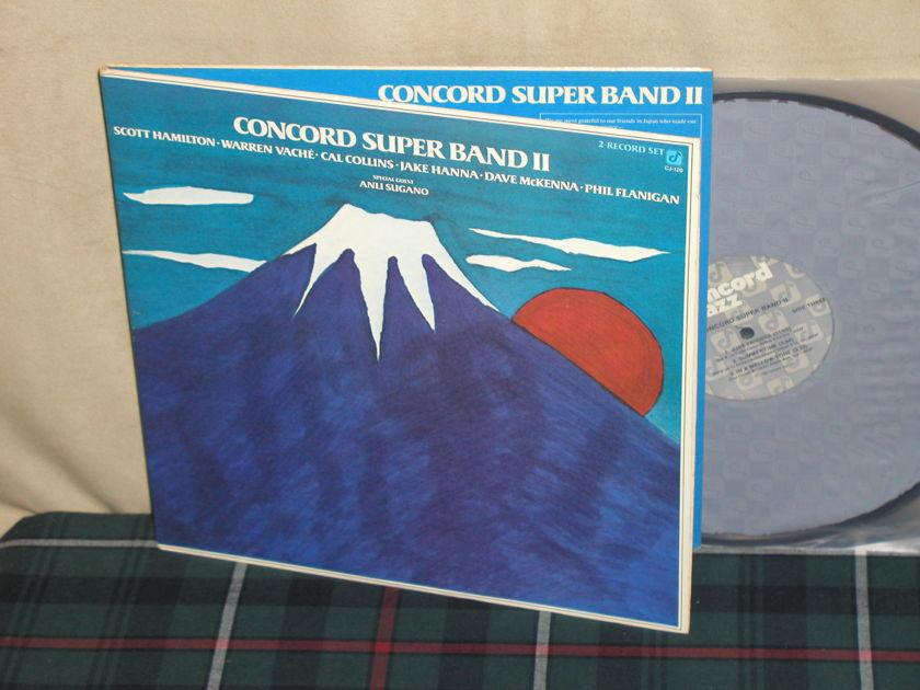 Hamilton/Vache/+more - Concord Super Band II 2LP gatefold set Concord CJ-120