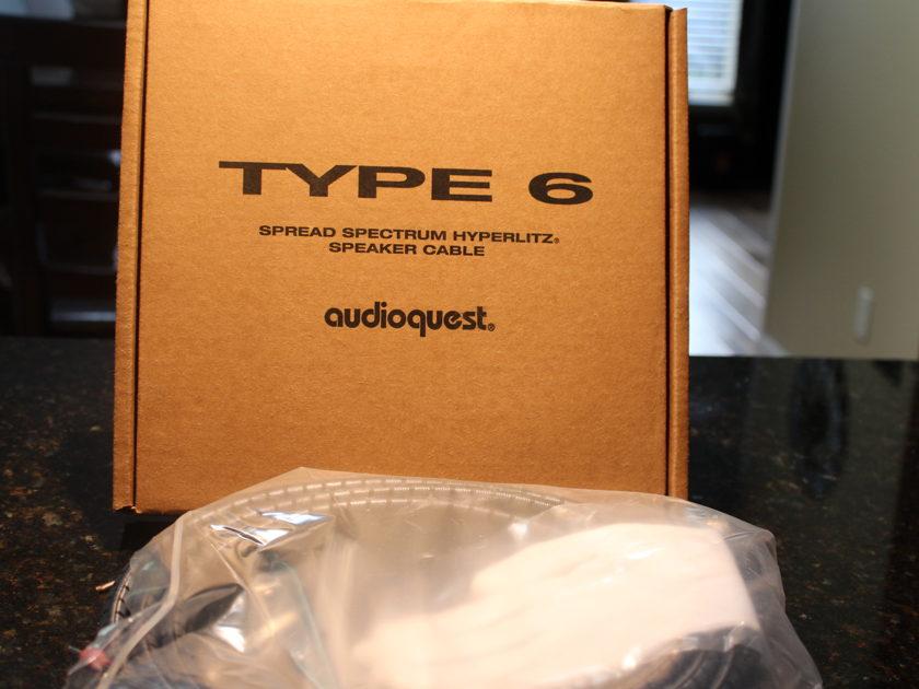 AudioQuest Type 6  Speaker Cables