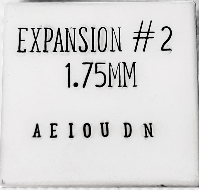 2.5mm Uppercase