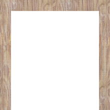 Frame template #1 (brown, cherry wood)