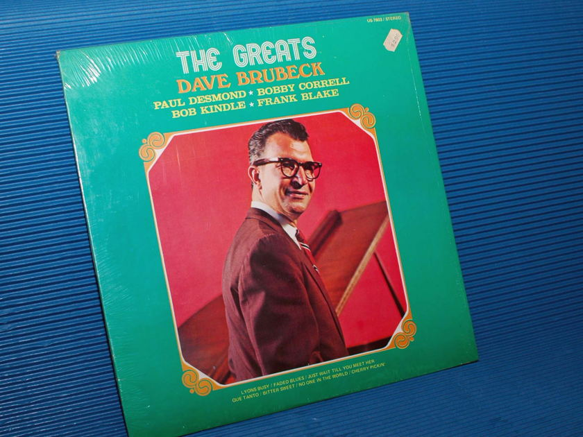 "BRUBECK/DESMOND/CORRELL etc. -  - ""The Greats"" -  United 196? sealed!"