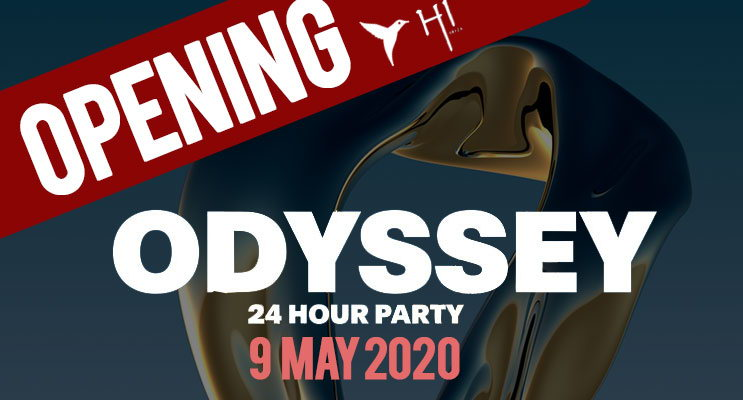 opening party odissey, fiesta apertura ushuaia y Hi ibiza