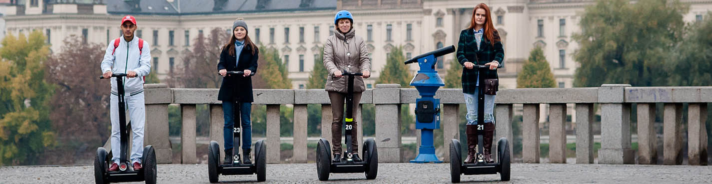 Segway Optimal – Optimal Sightseeing Tour (2 hours)