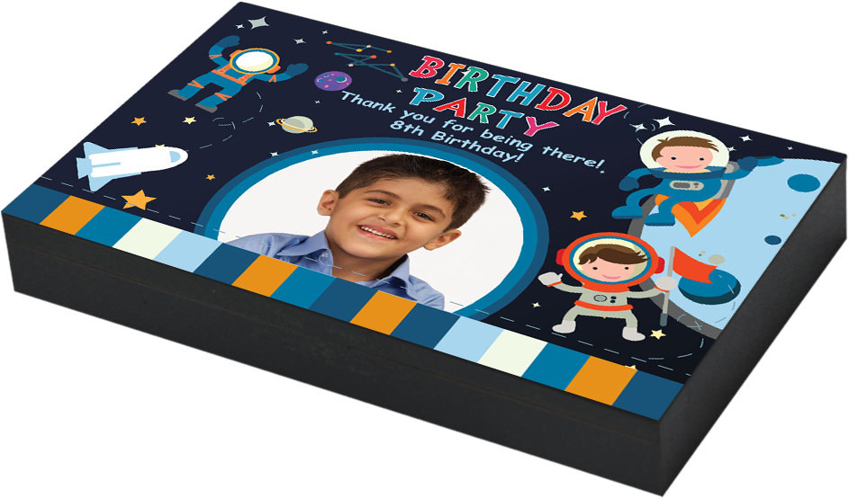 Personalised space theme Birthday return gift