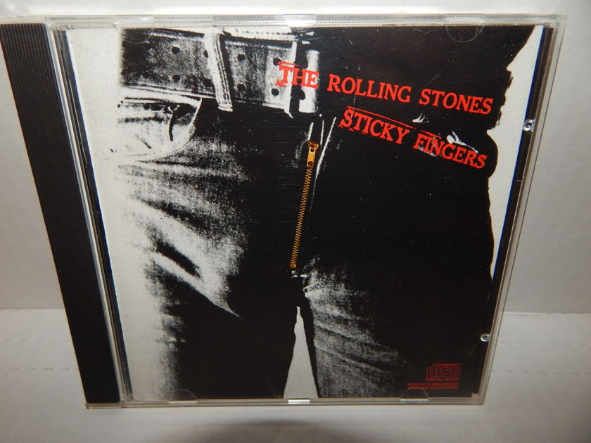ROLLING STONES Sticky Fingers - 1986 CK 40488 Mint CD