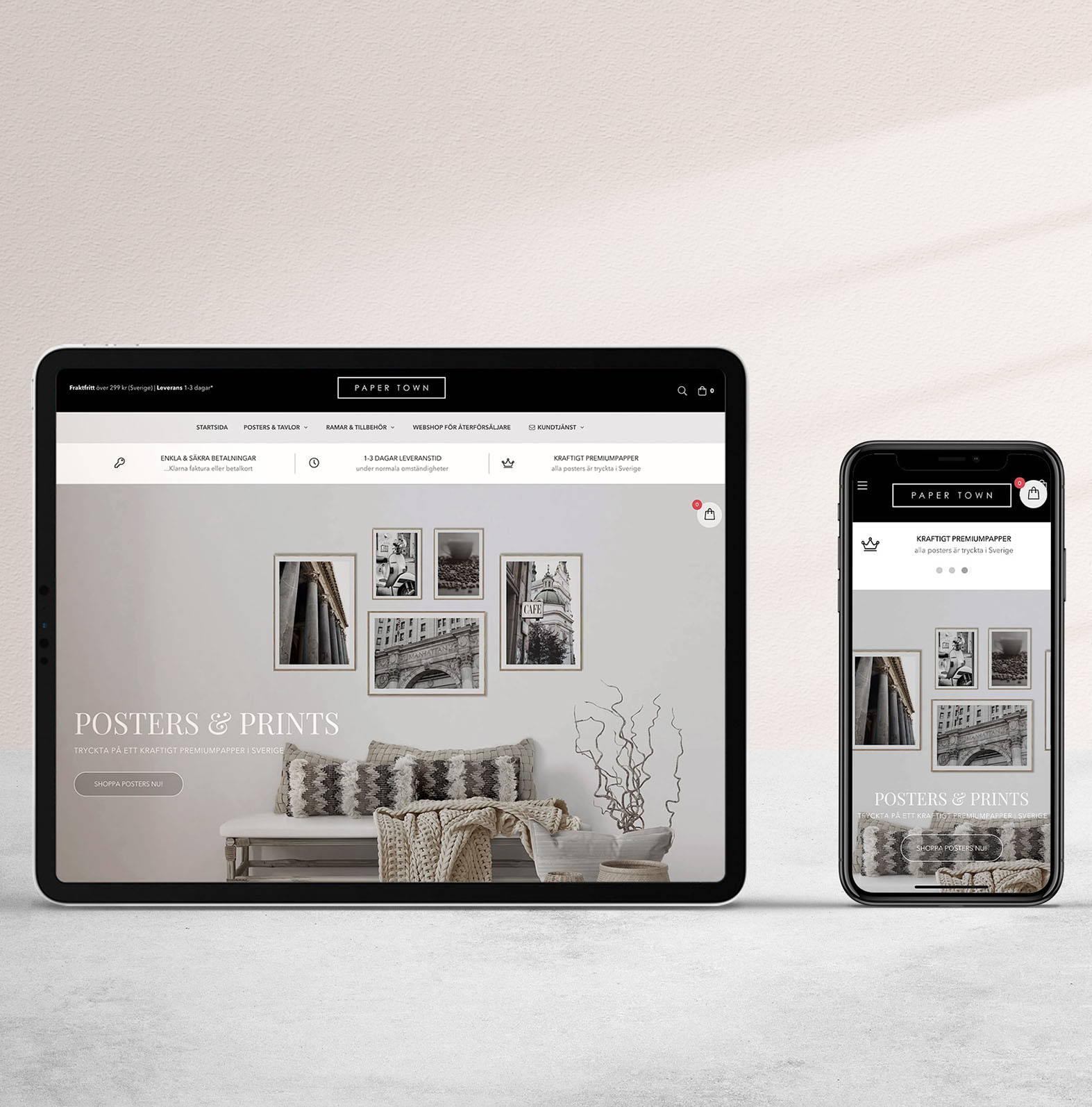 Shoppa matchande posters och tavlor online