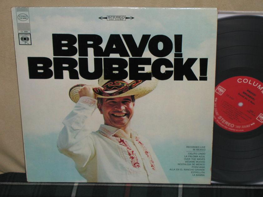 Dave Brubeck Quartet - Bravo Brubeck Columbia <360> labels from 60's