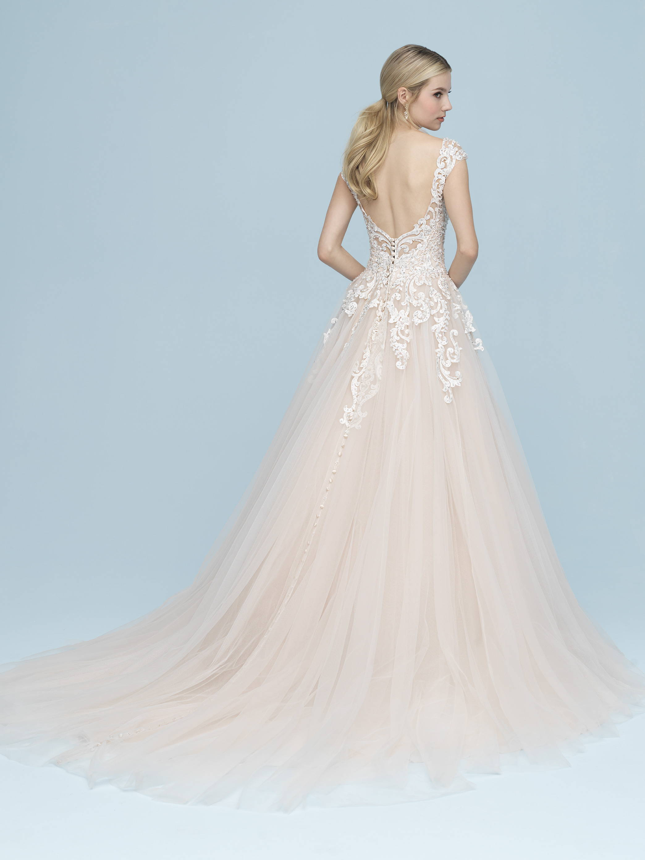 ALLURE  WEDDING DRESS 9606