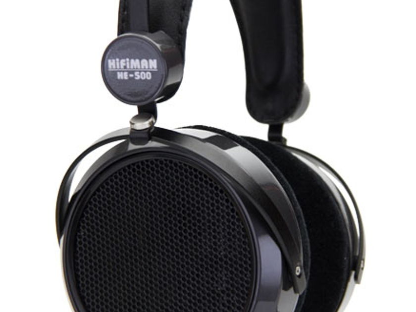 Hifiman HE-500 headphones-must have efficient planar world class !