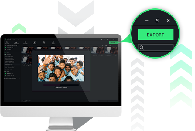 Export anytime, anywhere