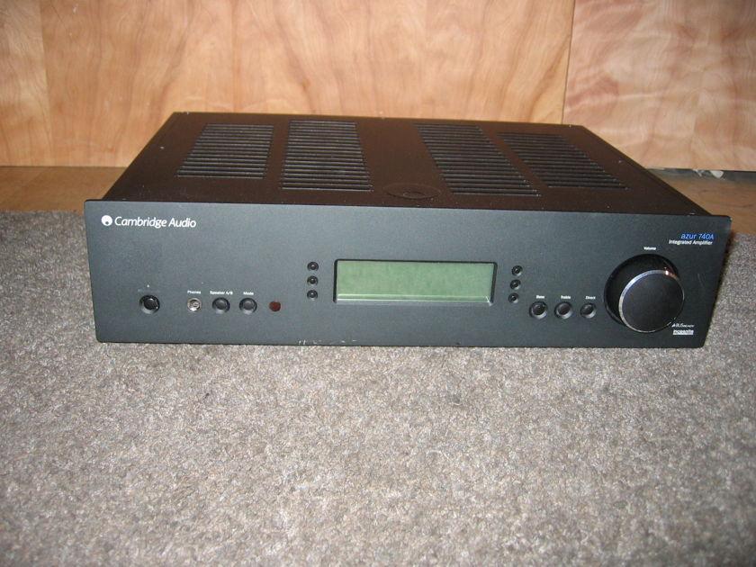 Cambridge 100 Watt Integrated  Top Of  Line 740A Black Powerful, Quality Amp